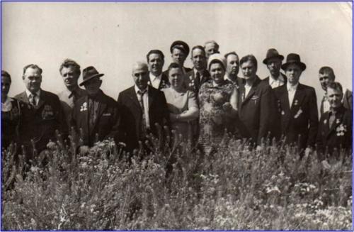 Встреча Романова Н.М. с однополчанами на Сиваше.