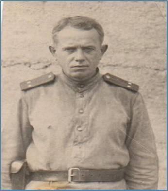 Романов Н.М.  Фото 1943 года.