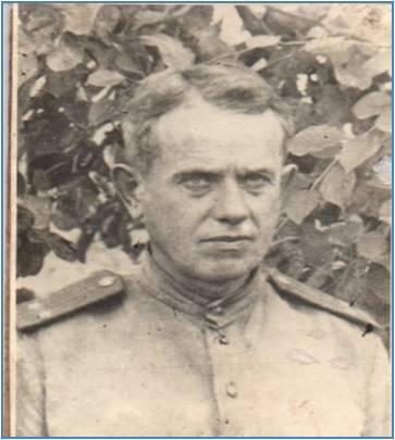 Романов Н.М.  Фото 1945 года.